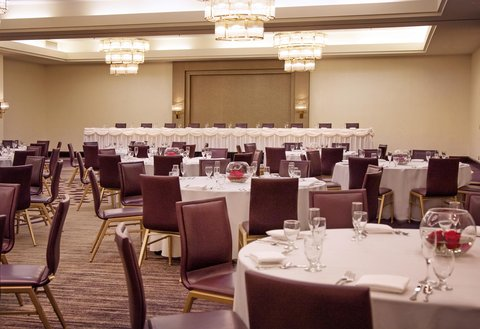 Doubletree By Hilton Hotel Minneapolis North - Banquet Setup