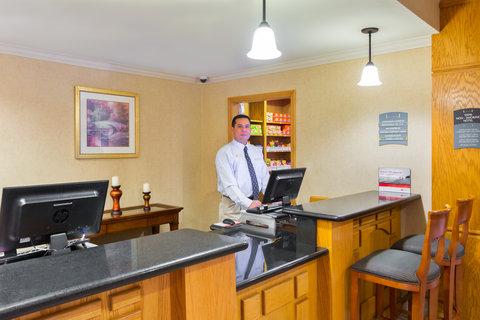 Staybridge Suites BROWNSVILLE - Front Desk