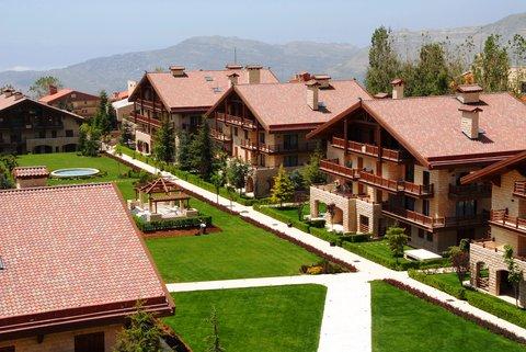 玛加尔黎巴嫩青山温泉度假洲际酒店 - View From the Hotel