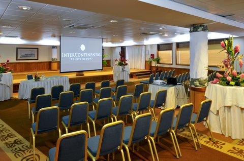 Intercontinental Resort Tahiti - Tipanier Room