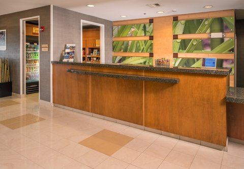 SpringHill Suites Hagerstown - Front Desk