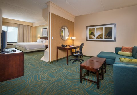 SpringHill Suites Hagerstown - Spa King Suite Parlor