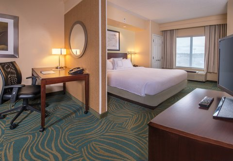 SpringHill Suites Hagerstown - King Suite