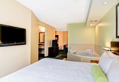 SpringHill Suites Erie - King Spa Suite