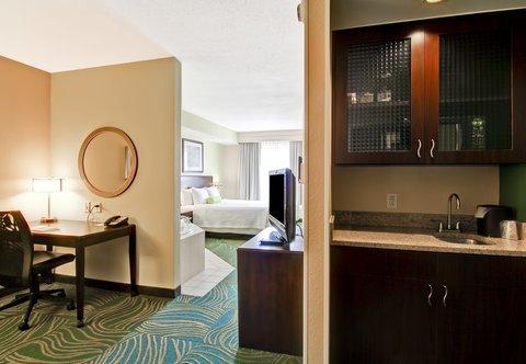 SpringHill Suites Erie - Double Double Suite Living Area
