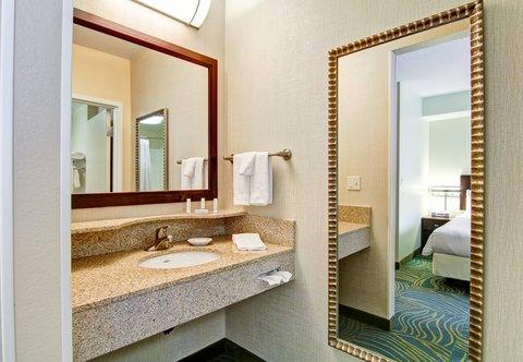 SpringHill Suites Erie - Suite Bathroom Vanity