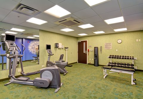SpringHill Suites Erie - Fitness Center - Free Weights