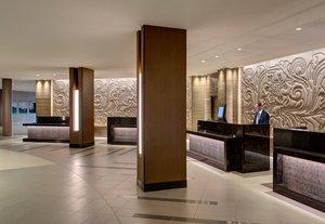 Lobby - Marriott Houston Bush Airport Hotel