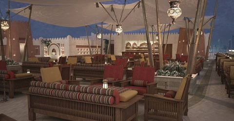 Najd Boutique Hotel - Roof Terrace