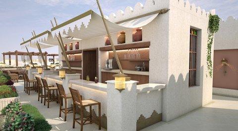 Najd Boutique Hotel - Juice Bar Area