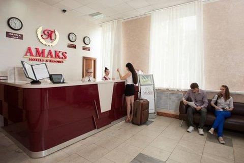 Amaks Centralnaya - Reception