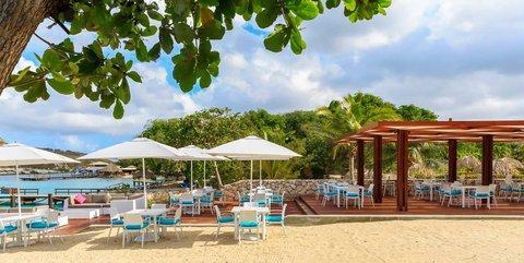 Curacao Hilton Hotel - Celeste Beach Bar