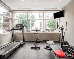 Fitness/ Exercise Room - Comfort Inn Demonbreun St Nashville