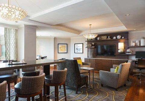Renaissance Tampa International Plaza Hotel - Club Lounge