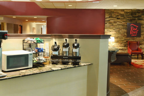 Red Roof Inn Grand Forks - Coffee Area