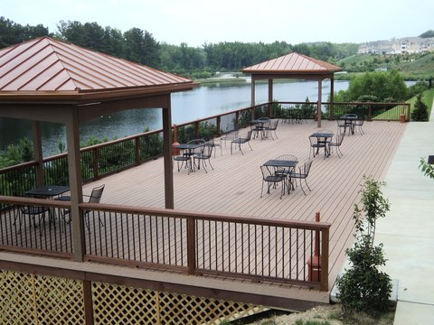 Holiday Inn Express & Suites ATLANTA ARPT WEST - CAMP CREEK - Holiday Inn Express   Suites Atlanta Arpt West -Outdoor Deck