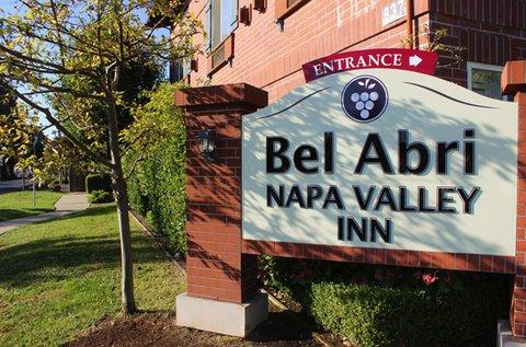 Bel Abri A Napa Valley Bed & Breakfast Hotel - Belabriexterior