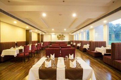 Velvet Clarks Exotica Zirakpur Hotel - Restaurant