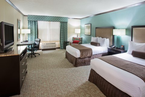 Crowne Plaza ANCHORAGE-MIDTOWN - Double Bed Nonsmoking Guest Room