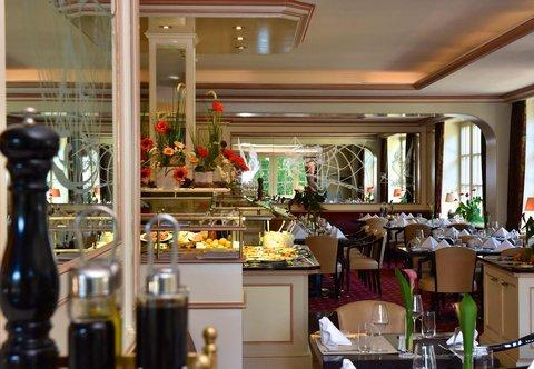 漢堡機場萬豪庭院酒店 - Restaurant Concorde