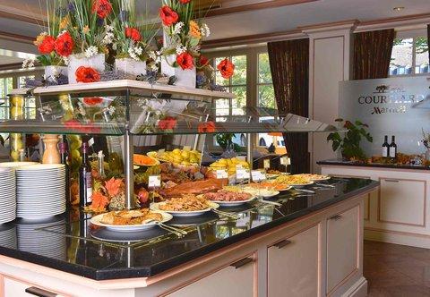 漢堡機場萬豪庭院酒店 - Restaurant Concorde - Lunch Buffet