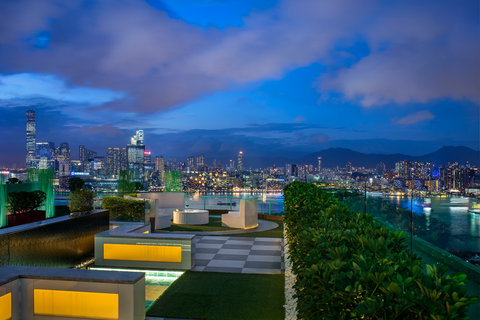 香港柏宁铂尔曼酒店 - Rooftop Garden - 28 F