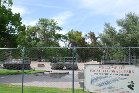 Holiday Inn Express & Suites Pocatello - Area Attractions- Pocatello Skate Park