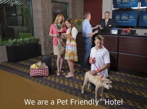 Best Western Plus Inn At The Vines -   Pet Friendly Hotel
