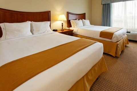 Holiday Inn Express Hotel & Suites Mansfield - Double Bed Guest Room