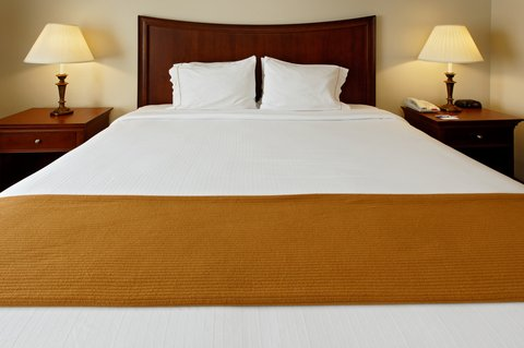 Holiday Inn Express Hotel & Suites Mansfield - King Bed Guest Room