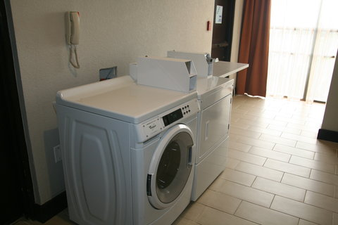 Holiday Inn Express & Suites SAN ANTONIO EAST - I10 - 4th Floor front loading laundry machines