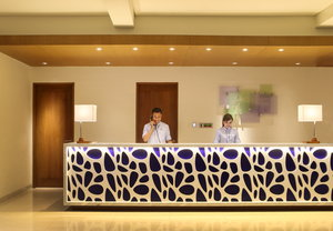 Reception at Holiday Inn Express Bali Kuta Square