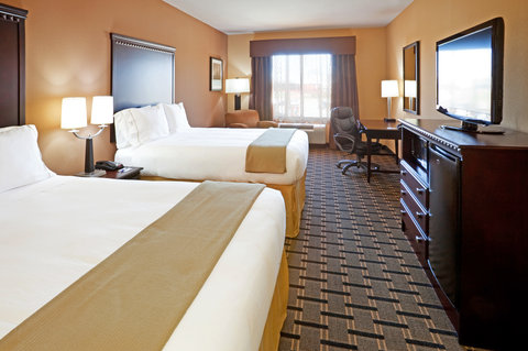 Holiday Inn Express & Suites DALLAS CENTRAL MARKET CENTER - Queen Bed Guest Room