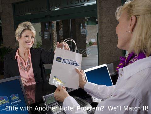 Best Western Santa Fe Inn Hotel - Status Match  No Catch