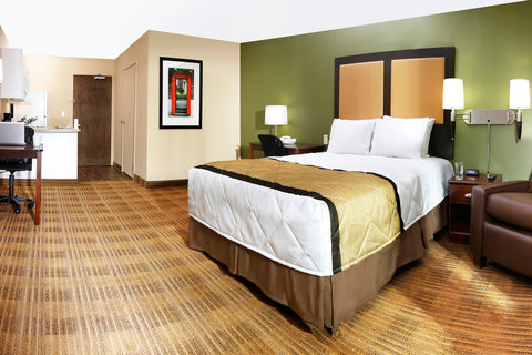 Extended Stay America - Cincinnati - Blue Ash - Reed Hartman - Studio Suite - 1 Queen Bed