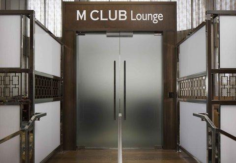 Teaneck Marriott at Glenpointe - M Club Lounge - Entrance
