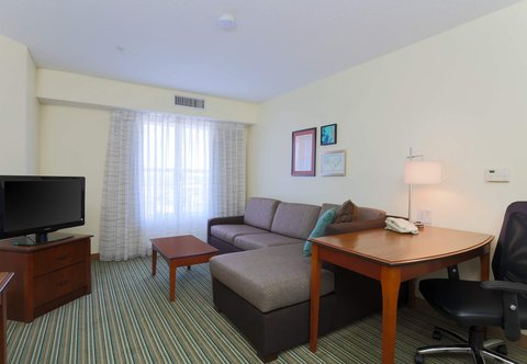 Residence Inn Fort Smith - One-Bedroom Suite Living Area