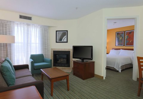 Residence Inn Fort Smith - Two-Bedroom Suite Living Area