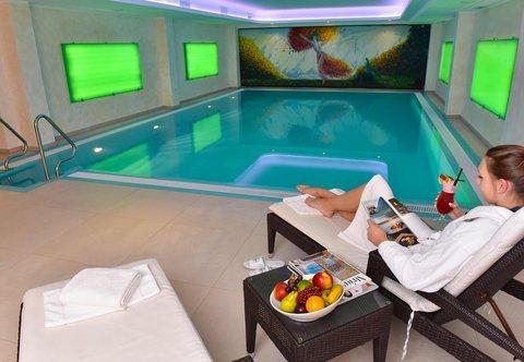 漢堡機場萬豪庭院酒店 - Indoor Pool