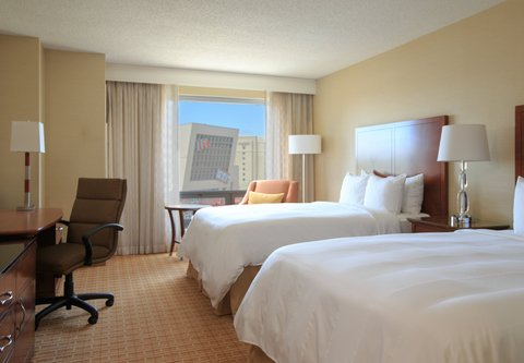 Gaithersburg Marriott Washingtonian Center - Deluxe Lake View Double Double Guest Room