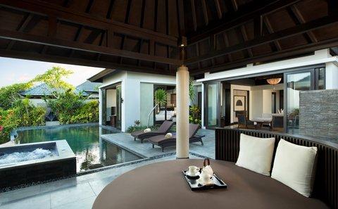 بانيان تري أونغاسان - Pool Villa Garden Exterior