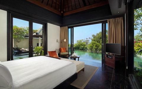 بانيان تري أونغاسان - Pool Villa Garden Bedroom