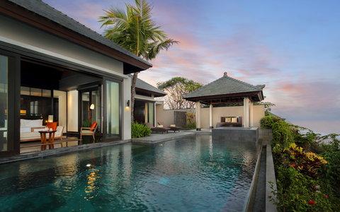 بانيان تري أونغاسان - Pool Villa Sea Exterior
