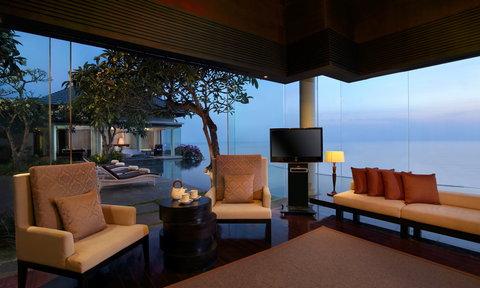 بانيان تري أونغاسان - Pres Suite Living Room