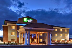 Exterior view - Holiday Inn Express Airport Albuquerque