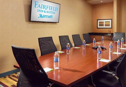 Fairfield Inn & Suites Fayetteville North - Boardroom