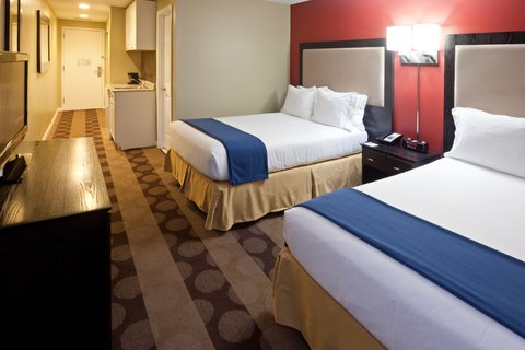 Holiday Inn Express-Downtown - Double Bed Guest Room