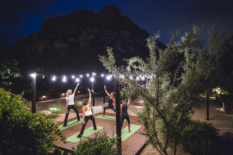 Boulders Resort & Golden Door Spa - Benandkellyphotography  Bouldersyoga