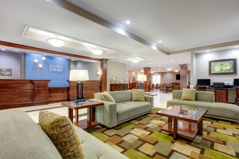 Holiday Inn Express & Suites GALLIANO - Lobby Lounge