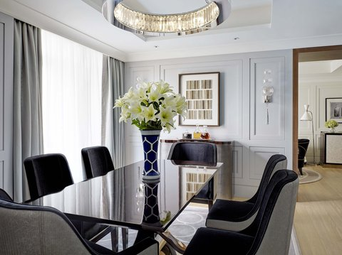 The Langham, Hong Kong - Director Suite - Dining Room